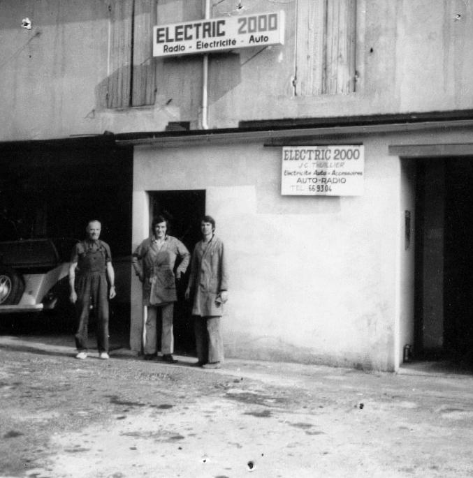 Garage electric mobile nérac